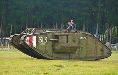 WW1 British tank.
