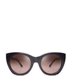 48c788887a Tory Burch Pierced-t Cat-eye Sunglasses Sunglasses Women Designer