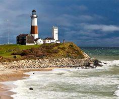 Mantuck Point lighthouse