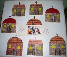 Kirchen, Art For Kids, Celebrations, Painting, Christianity, Art For Toddlers, Painting Art, Paintings