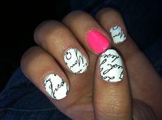 Sally Hansen nail strips :)
