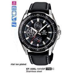 Casio edifice ef-336l-1a1vdf erkek kol saati ürünü, özellikleri ve en uygun fiyatların11.com'da! Casio edifice ef-336l-1a1vdf erkek kol saati, erkek kol saati kategorisinde! 489