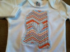 mississippi state shape applique infant gown by craftycheetah, $20.00