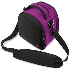 Amazon.com : VanGoddy Laurel Carrying Bag for Nikon Coolpix L840 / L830 / L340 / L320 L820 / L610 / L810 / L120 / L110 / L100 Digital SLR Cameras (Purple) : Camera & Photo