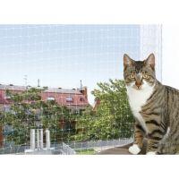 Filet de sécurité pour balcon transparent - Accessoires de sécurité pour chat - Trixie / Wanimo