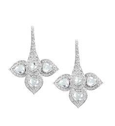 #VIVAAN Rose Cut diamond earrings in 18k