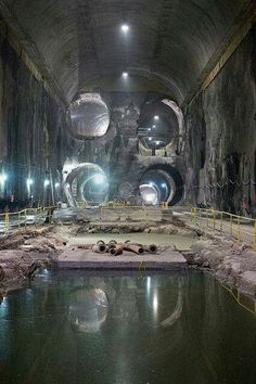 Abandoned tunnels under nyc