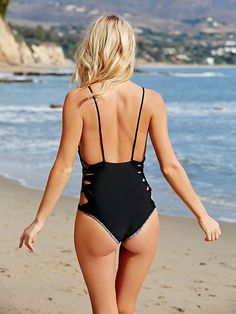 20 strappy, flattering bathing suits that are worth the weird tan lines