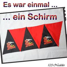 123-Nadelei: Es war einmal ein Schirm ... Recycling, Scrappy Quilts, Photo Decorations, Yarn And Needle, Sachets, Handarbeit, Upcycle