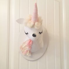 Large Faux Taxidermy Unicorn by MisfitMenagerie on Etsy https://www.etsy.com/listing/270596399/large-faux-taxidermy-unicorn