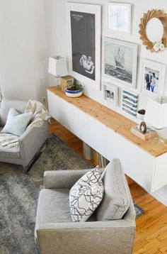 How to add tons of storage to your living room   Fauxdenza Part Two - DIY Passion
