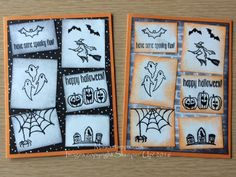 www.facebook.com/MariaStamping  Spooky Fun Stamp Set (#142236, $$16.00 US) from the Stampin' Up! 2016 Holiday Catalog