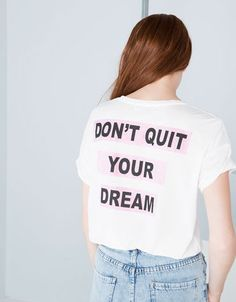 Bershka Netherlands - Shirt Bershka I'M A DREAMER