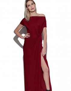 Suknia z węzłem