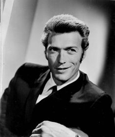 """The photo """"Clint Eastwood"""" has been viewed 610 times. Actor Clint Eastwood, Sergio Leone, Old Hollywood Glamour, Classic Hollywood, Star Wars, Lovely Creatures, American Actors, Movie Stars, The Man"""