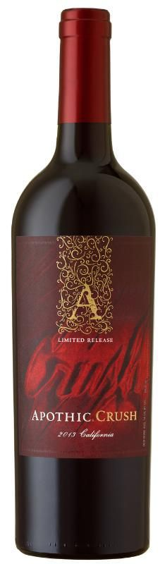 Apothic Wines unveils Apothic Crush - its latest limited edition red blend (PRNewsFoto/Apothic Wines)