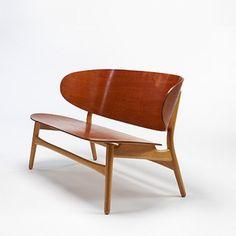Hans Wegner / Shell settee