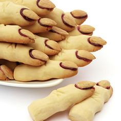 Frightful Finger Cookies