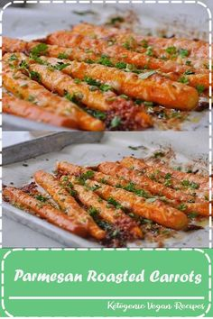 You will fall in love with these Parmesan Roasted Carrots. They are a sure fire way to get the kids and grown-ups to eat their vegetables! Healthy Eating Recipes, Clean Eating Snacks, Real Food Recipes, Vegetarian Recipes, Cooking Recipes, Drink Recipes, Salad Recipes, Dessert Recipes, Mini Trifle