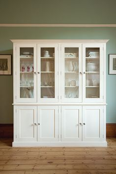 The Large Woburn Dresser painted in Saltmarsh from The Kitchen