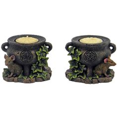 Wican Home Décor, Wiccan Incense Burners and Wiccan Candle Holders by Medieval Collectibles