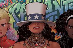 Novos quadrinhos da Marvel trazem heroína lésbica e latina E mais: o hit Formation, da Beyoncé, serviu de inspiração para a história!  Por Julia Warken access_time 3 fev 2017, 12h35 chat_bubble_outline more_horiz america-destaque (Divulgação) A Marvel anunciou que irá lançar uma história em quadrinhos sobre a personagem America Chaves, heroína lésbica e latina, que foi apresentada ao público em 2011. No universo da Marvel, ela é a sucessora da Miss America, personagem criada há mais de 70…