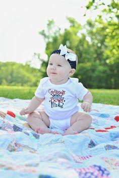 St. Louis Cardinals Baby Cardinals Girls Wear by HeatherEssary, $16.00