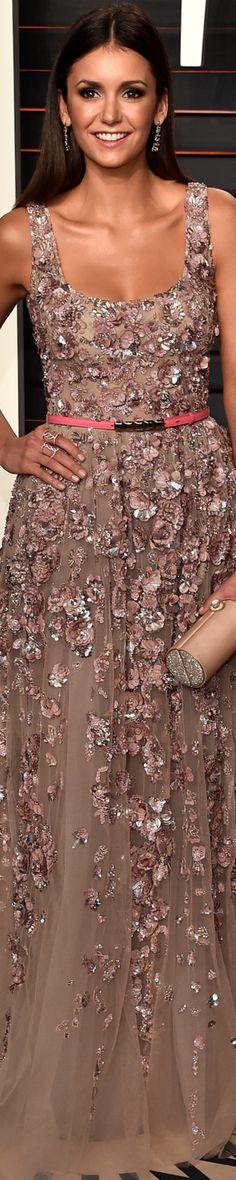 Nina Dobrev 2016 Vanity Fair Oscar Party