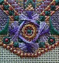 Project: Old Country (10th of the series)  Designer: Jim Wurth  Series: Dodecagon ornaments  Type of needlework: Needlepoint  Photos: 6  Ji...