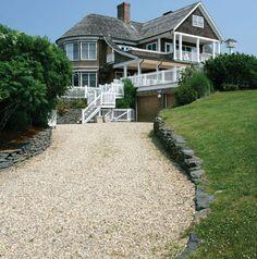 cedar-shingled beach house in Montauk