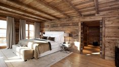 Chalet N. The ultimate 'All your dreams come true' Chalet in Oberlech Chalet Design, House Design, Chalet Interior, Interior Design, Home Interior, House In The Woods, Log Homes, Interior Architecture, Home Decor
