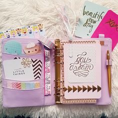 Find images and videos about ideas, planner and filofax on We Heart It - the app to get lost in what you love. Kikki K Planner, Cute Planner, Planner Ideas, Happy Planner, Project Life, Journal Inspiration, Midori, Planner Supplies, Planner Decorating
