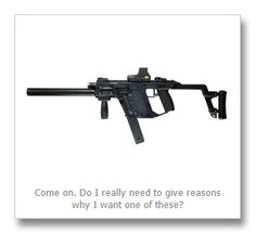 Top 10 reasons I want a Kriss Vector...