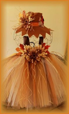 Scarecrow tutu costume #2 by Carrie/Miss Goody Tutus.                                                                                                                                                                                 More