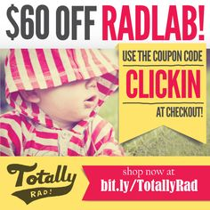 """My VERY favorite tool for editing photos! SAVE 60 dollars off RadLab! The Photoshop and Lightroom plug-in that is easy, creative, and fast. Just enter the discount code """"CLICKIN"""" at checkout (Expires Jan. 25th)"""