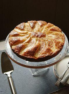 Amaretto-Glazed Pear Shortcake -- Cooking with Mamma C