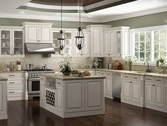 RTA Cabinet Wholesalers is the largest online dealer of Ready to Assemble Charlotte Antique White Kitchen Cabinets. Get premier RTA kitchen cabinet collection at discount price. Kitchen Cabinets Kits, Glazed Kitchen Cabinets, Painting Kitchen Cabinets, Kitchen Ideas, Kitchen Trends, Rta Cabinets, Garage Cabinets, Office Cabinets, Kitchen Island
