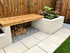 Family Garden, Garden Design, Gardens, Contemporary, Storage, Furniture, Home Decor, Purse Storage, Decoration Home