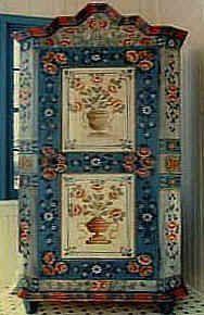 Muebles pintados decorativos, muebles pintados a mano personalizada