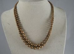 Copper Double Stranded Vintage Choker 6303