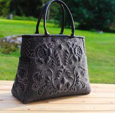 """Купить Стеганая сумочка """" Волшебная ночь"""" - валентина букеева, сумка ручной работы"""