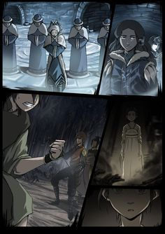The Blind Bandit [Introduction, clean] by Axxonu on DeviantArt--> oh my this panel is beautiful Avatar The Last Airbender Art, Avatar Aang, Avatar World, Air Fire, Korrasami, Zuko, Legend Of Korra, Blind, First Love