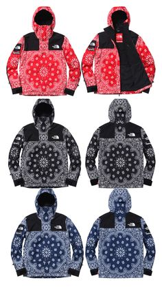 "Supreme x The North Face Autumn/Winter 2014 ""Bandana"" Collection"
