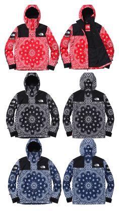 "Supreme x The North Face Autumn/Winter 2014 ""Bandana"" Collection"