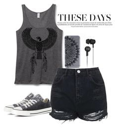 """""""#Mood"""" by regiblueeyess on Polyvore featuring Original Penguin, Topshop, Converse and monochrome"""