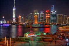 Shanghai Nights jigsaw puzzle in Great Sightings puzzles on TheJigsawPuzzles.com