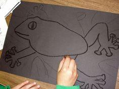 Creative Art Projects for Busy Teachers Rainforest Project, Rainforest Theme, Rainforest Animals, Animal Art Projects, Cool Art Projects, 6th Grade Art, Sixth Grade, Grade 3, Summer Camp Art