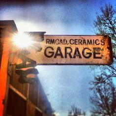 RMCAD Ceramics Garage // Photo by iamthecarpenter via Instagram