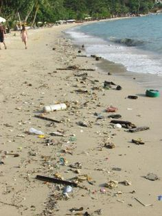 save our oceans.... don't be a slob