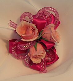 Spray Rose Prom Corsage.  Flowers of Charlotte loves this!  Visit us at flowersofcharlotte.